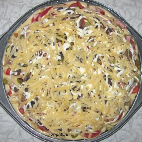 Тёртый сыр для пиццы